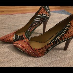 Nine West Patterned Heels